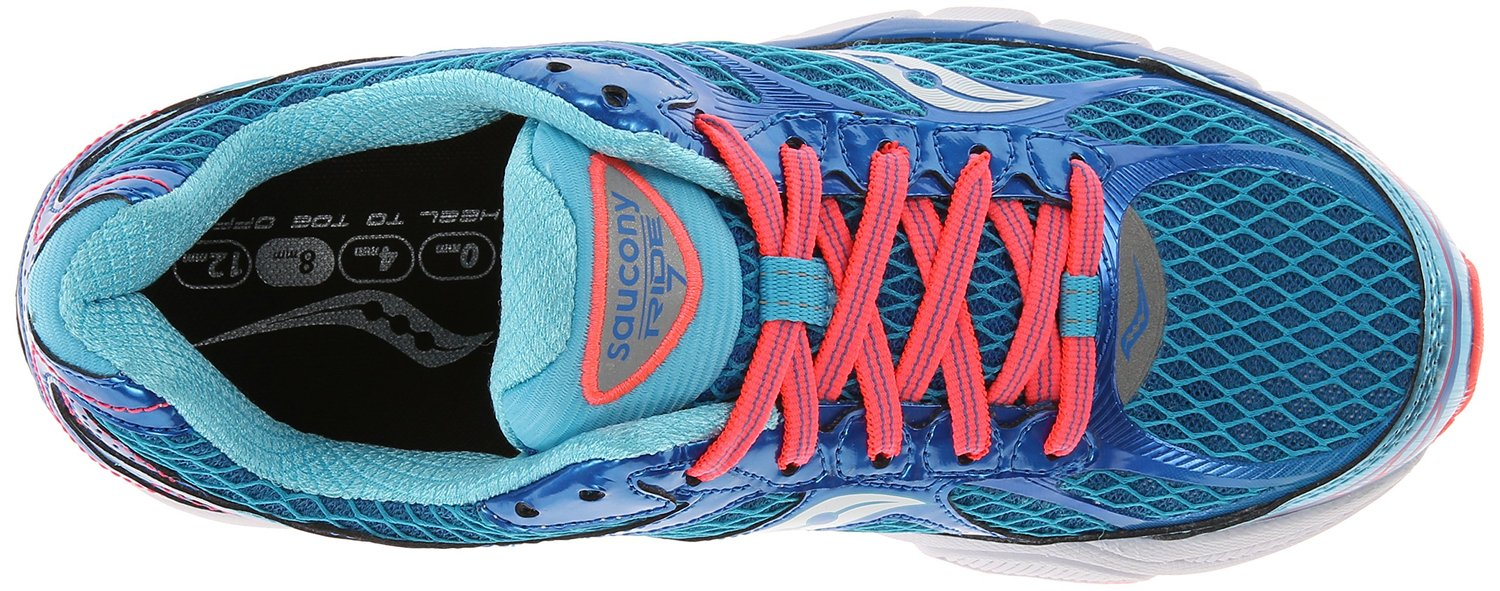 saucony ride 7 running shoes review